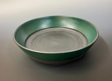 Bowls - Deep bowl (green) - YOULA SELECTION
