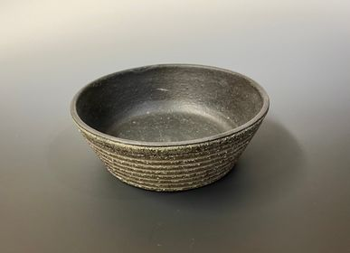 Bowls - Shallow bowl (Carbonized color) - YOULA SELECTION