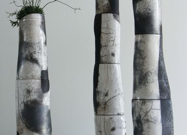 Unique pieces - Sculptures - Columns Resonances - KARINE DENIS