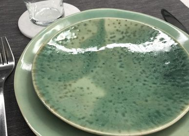 Everyday plates - Small plate collection Green - CHLOÉ KOWALKA