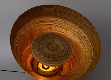 Objets de décoration - BOOTON Lampe de sol en bambou fait main pour salon et chambre - BAMBUSA BALI