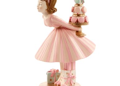 Other Christmas decorations - KISS.GIRL WITH MACARON TOP Decoration Christmas  - GOODWILL M&G