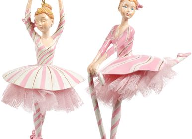 Other Christmas decorations - TULLE CANDY STRIPED BALLERINA Christmas Decoration  - GOODWILL M&G