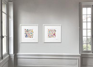Paintings - Series HAPPY BEARS 52x52cm - GALERIE BELARTVITA