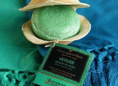 "Gifts - Ayurvedic soap ""Vetiver"" - KARAWAN AUTHENTIC"