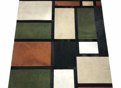 Contemporary carpets - Custom Mondrian Cow Rug - TERGUS