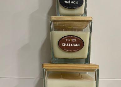Bougies - Bougies parfumées cire 100 % végétale de soja normes UE - L'ECHOPPE BUISSONNIERE