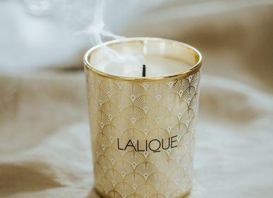 Decorative objects - PLUME BLANCHE -  NOIR PREMIER, SCENTED CANDLE - LALIQUE VOYAGE DE PARFUMEUR