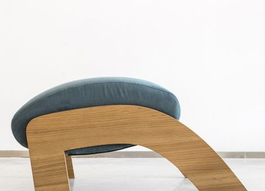 Lounge chairs for hospitalities & contracts - OTTOMAN/ FOOTREST - 1% DESIGN