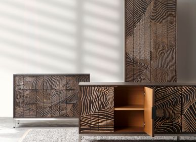 Chests of drawers - Folded Linens Cabinet and Sideboards by Triboa Bay Living  - DESIGN PHILIPPINES