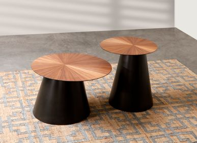 Coffee tables - Demir Round Coffee and Side Table by Triboa Bay Living - DESIGN PHILIPPINES