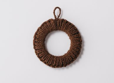 Potholders - Hand-knit Pot Stand M - TAKADA TAWASHI