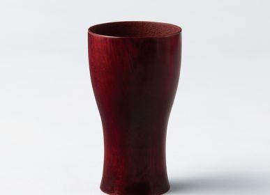 Tasses et mugs - <Lacquered>Verre à bière Paulownia - PAULOWNIA FURNITURE AZUMA CO.,LTD.
