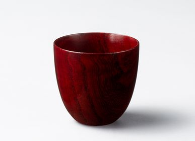 Tasses et mugs - <Lacquered> Paulownia Lowball Glass - PAULOWNIA FURNITURE AZUMA CO.,LTD.