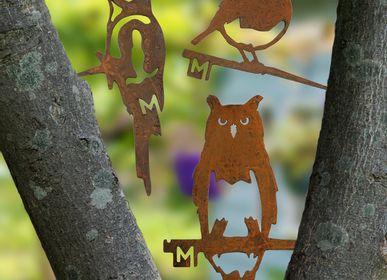Decorative objects -  Metalbird Set of 3 Small - METALBIRD