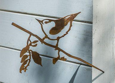 Objets de décoration - Metalbird Sitelle - METALBIRD