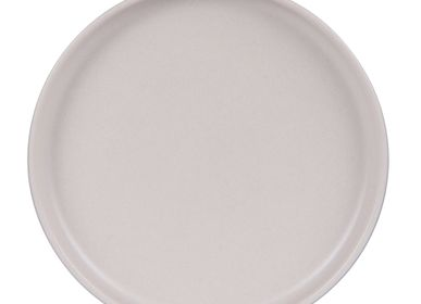 Assiettes au quotidien - ASSIETTE PLATE 26 CM UNO BEIGE REACTIF - TABLE PASSION
