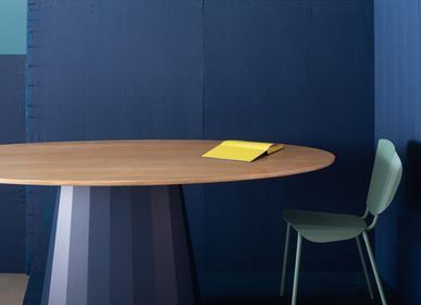 Dining Tables - Ankara oval dining table - MATIÈRE GRISE