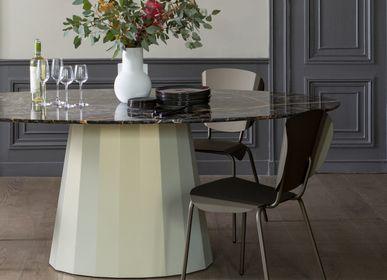 Tables Salle à Manger - Table de repas ovale Ankara - MATIÈRE GRISE
