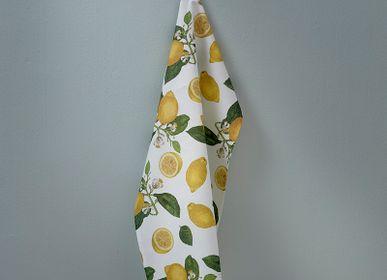 Tea towel - Lemon Tea towel in 100 % Organic cotton - KOUSTRUP & CO