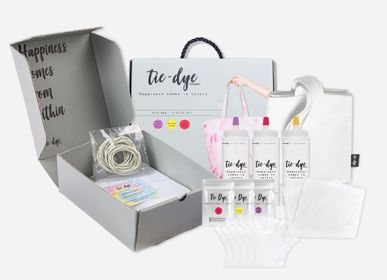 Children's arts and crafts - TIE DYE COMPLETE KIT - CATWALK