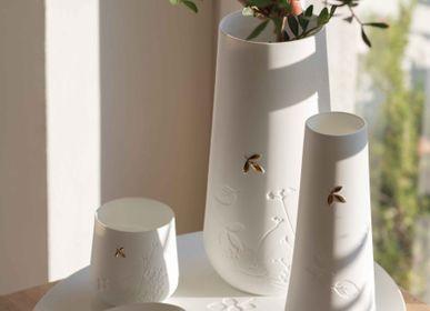 Décorations florales - FEUILLE DORÉE - RAEDER DESIGN STORIES