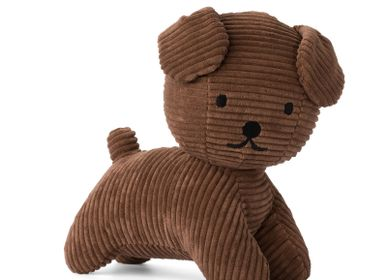 Soft toy - Snuffy by Miffy - Corduroy Brown - MIFFY BY BON TON TOYS