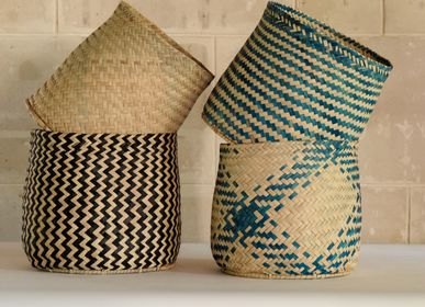 Bathroom storage - Bin, M, houndstooth and Missoni, South Africa - AS'ART A SENSE OF CRAFTS