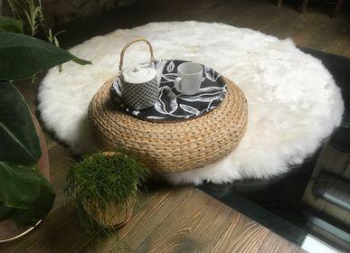 Classic carpets - Tapis rond en peau de mouton  - TERGUS