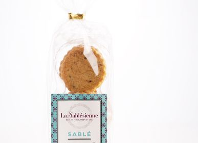 Cookies - Caramel chips sablé in a transparent bag - LA SABLÉSIENNE