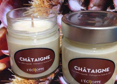 Bougies - Bougie parfumée Châtaigne 180 grammes - L'ECHOPPE BUISSONNIERE