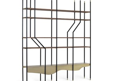 Bookshelves - Lage Bookcase - GREENAPPLE DESIGN INTERIORS