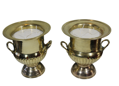 Decorative objects - PRESTIGE BRASS CANDLE - LUXA NATURA