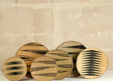 Other wall decoration - Baskets Agakoko, Tutsi, Rwanda/Burundi - AS'ART A SENSE OF CRAFTS