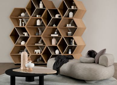 Bookshelves - Hobart Bookcase - GREENAPPLE DESIGN INTERIORS