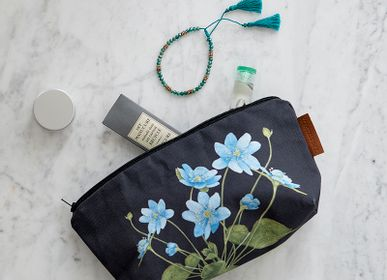 Bags and totes - Cosmetic with blue anemone - KOUSTRUP & CO