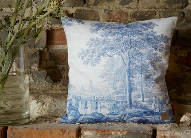 Fabric cushions - Cushion cover with a history - KOUSTRUP & CO