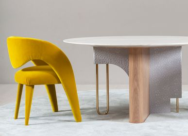 Chaises - Chaise Laurence avec accoudoirs - GREENAPPLE DESIGN INTERIORS