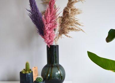 Gifts - TOP SALE - Cactus mix in a black face pot - PLANTOPHILE