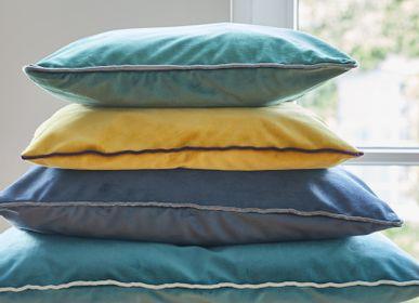 Fabric cushions - Hampton Velvet Cushion - EAGLE PRODUCTS