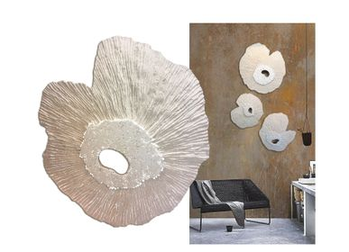 Other wall decoration - Wall decoration TRIPTYCH ZENITH  - VERO REATO - BETON DE CULTURE