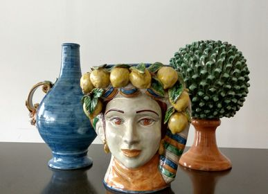 Vases - Vase Lemon Lady - AGATA TREASURES