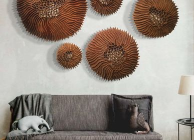 Other wall decoration - Wall decoration URCHIN - VERO REATO - BETON DE CULTURE