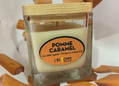 Bougies - Bougies parfumée Pomme Caramel - L'ECHOPPE BUISSONNIERE