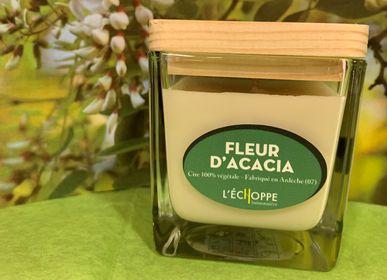 Bougies - Bougies parfumée Fleur d'acacia  - L'ECHOPPE BUISSONNIERE