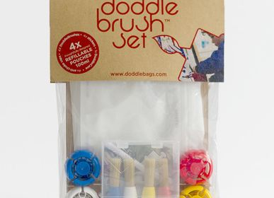 Children's arts and crafts - Doddle Brush Paint Pack DODDLE BAGS  - DODDLE BAGS