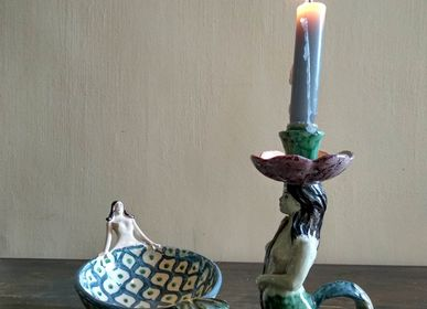Decorative objects - Mermaid Candle Holder - AGATA TREASURES