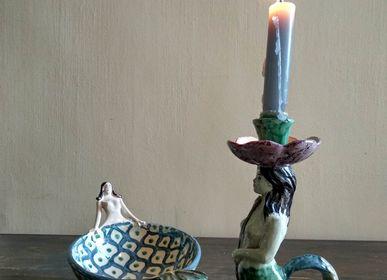 Objets de décoration - Bougeoire Sirene - AGATA TREASURES
