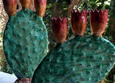 Decorative objects - Prickly Pear Candle Holder - AGATA TREASURES