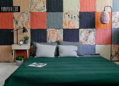 Other wall decoration - Headboard / Decorative wool panels - PANAPUFA